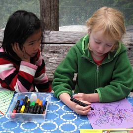 Children Colouring - West Coast Expeditions